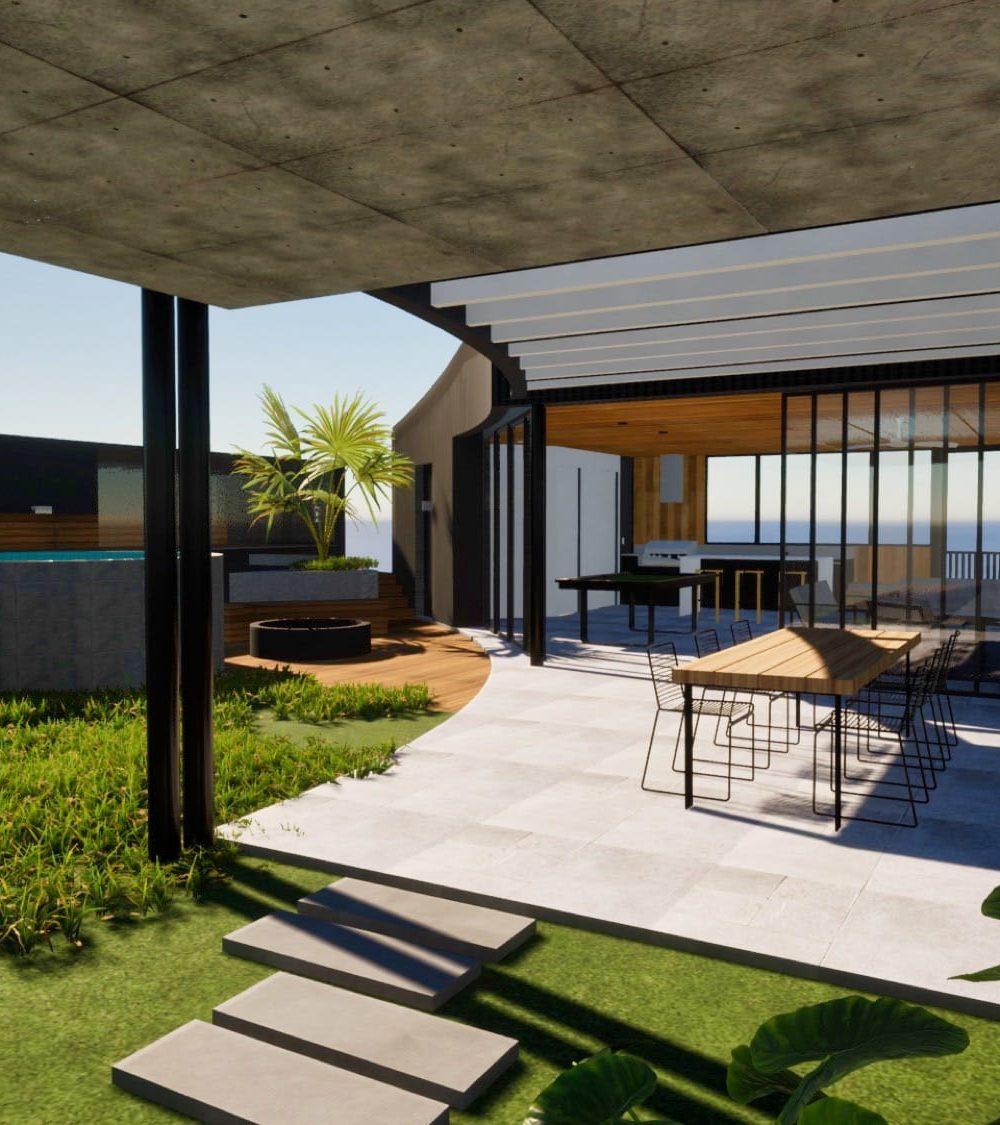 Pool House Alfresco